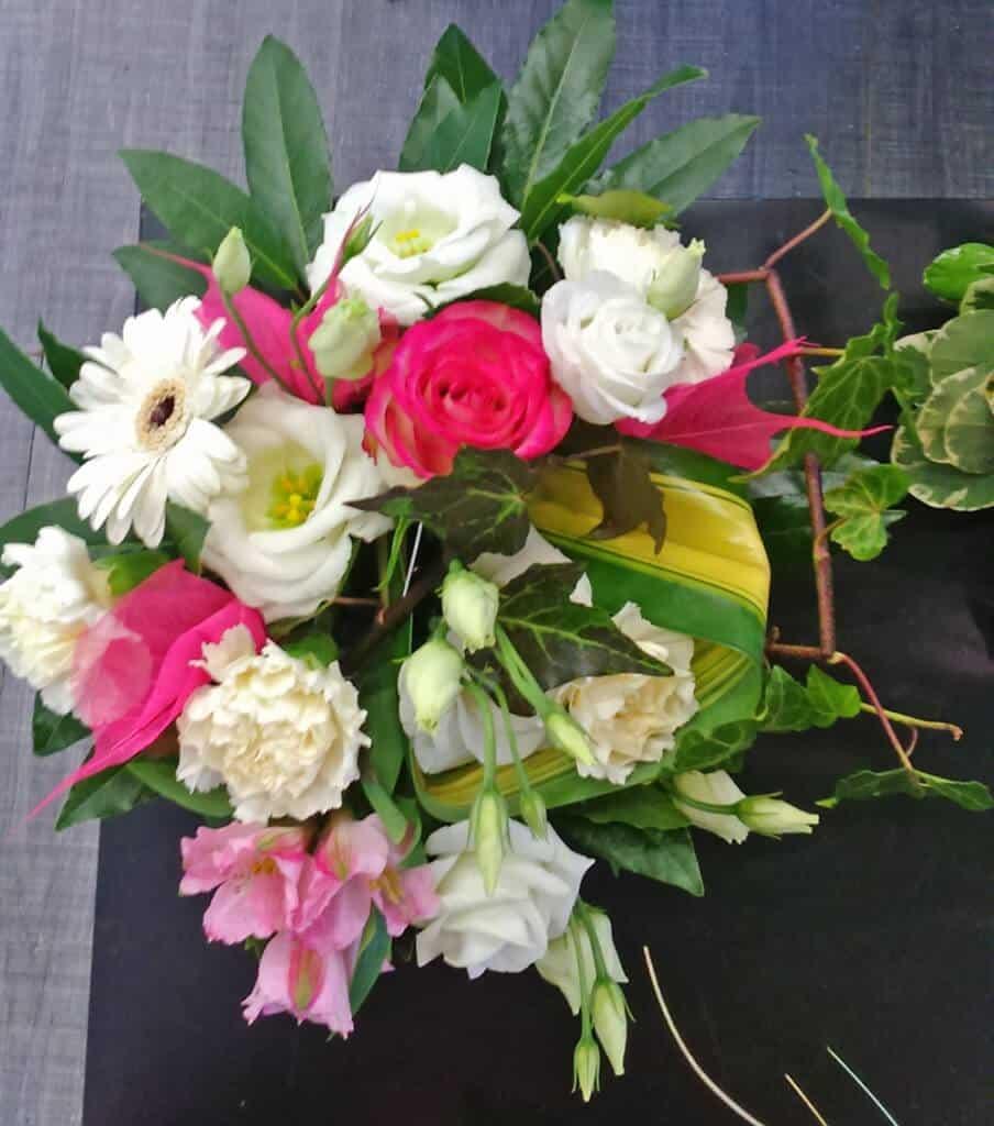 fleurs pour cadeau de naissance alen on avec atelier floral. Black Bedroom Furniture Sets. Home Design Ideas