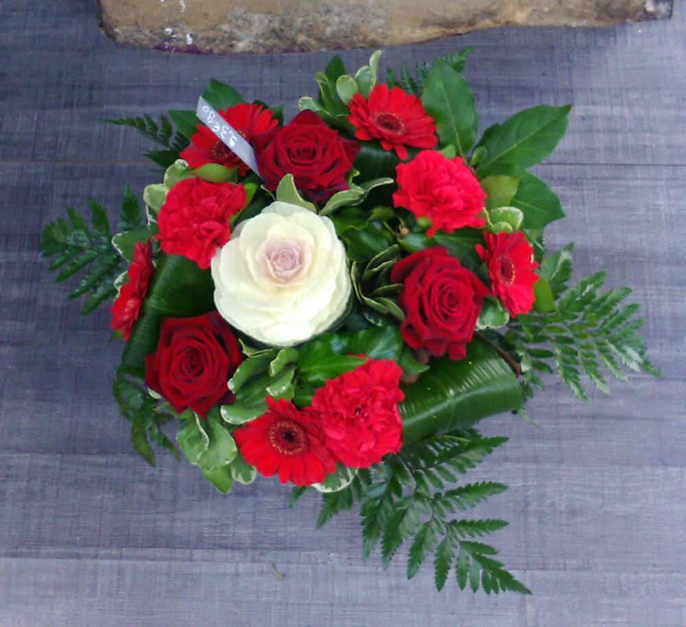 Bouquet de roses Saint-Valentin