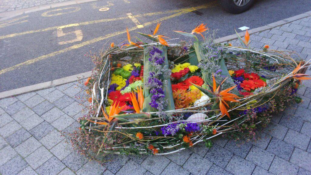 Barque de fleurs