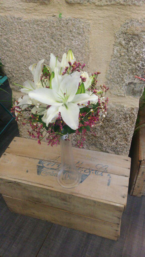 bouquet de mariée parfumé